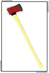 BlackHawk Dynamic Entry 9-11 Series Rescue Axe 6 lb. Flat Head Yellow Handle